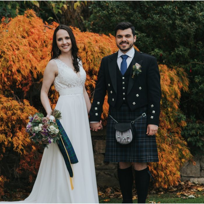 Autumn Elopement at Prestonfield House, Edinburgh - Diego & Jordana