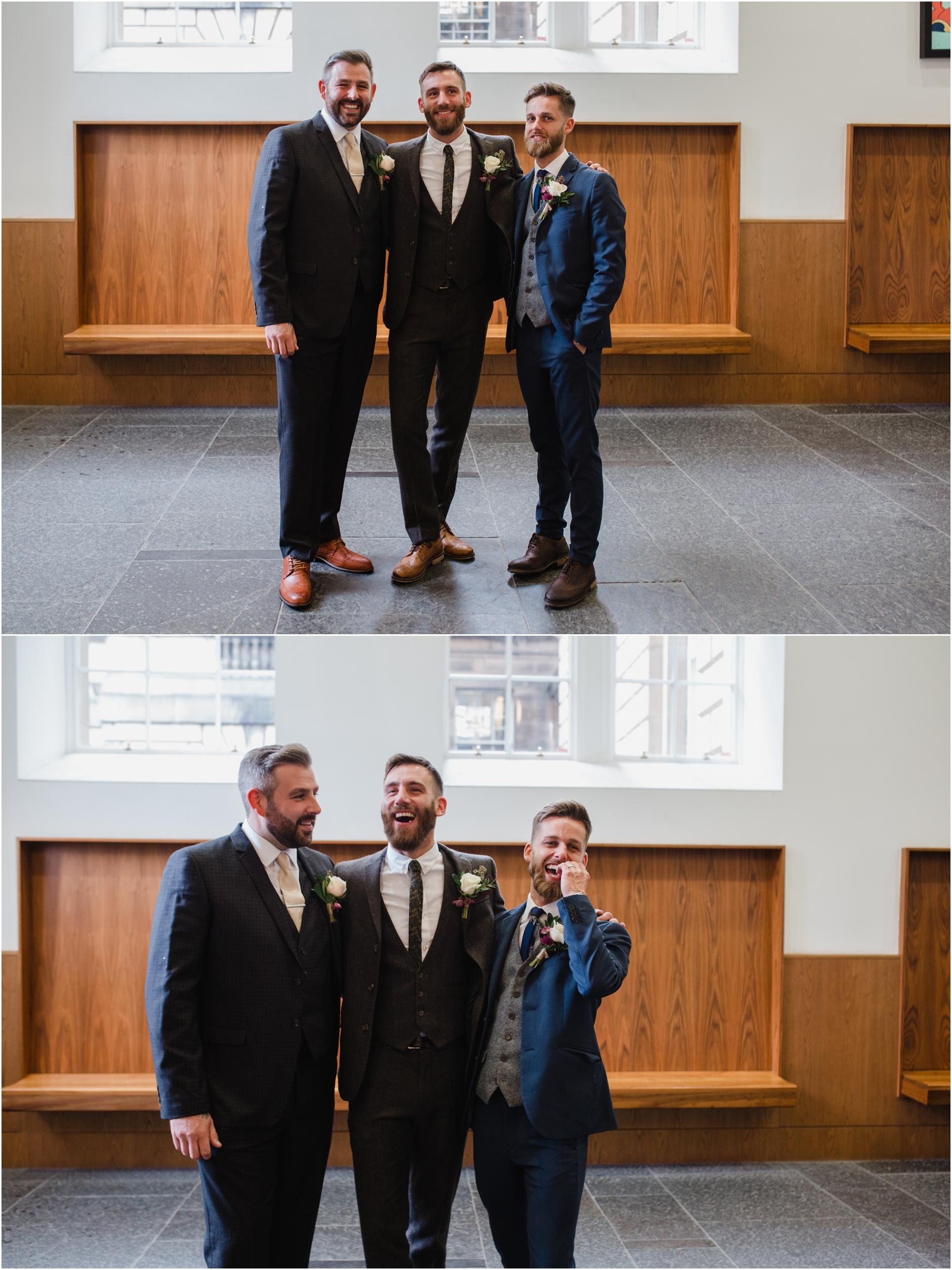 intimate edinburgh wedding