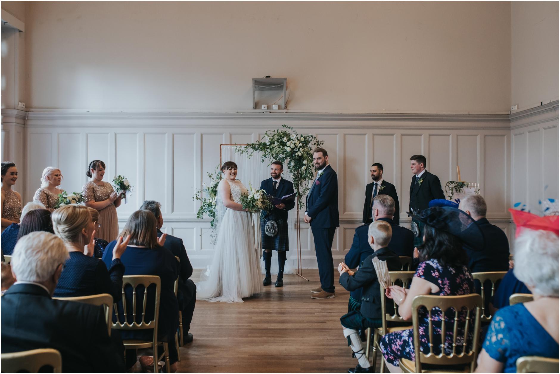summerhall wedding edinburgh photos