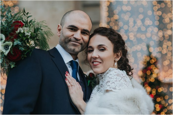 Magical Winter Wedding at Principal Hotel, Edinburgh - Sophia & Zee