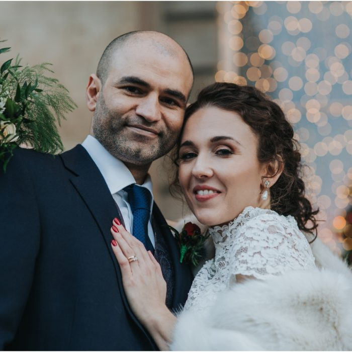Magical Winter Wedding at Principal Hotel, Edinburgh - Sophia & Zee