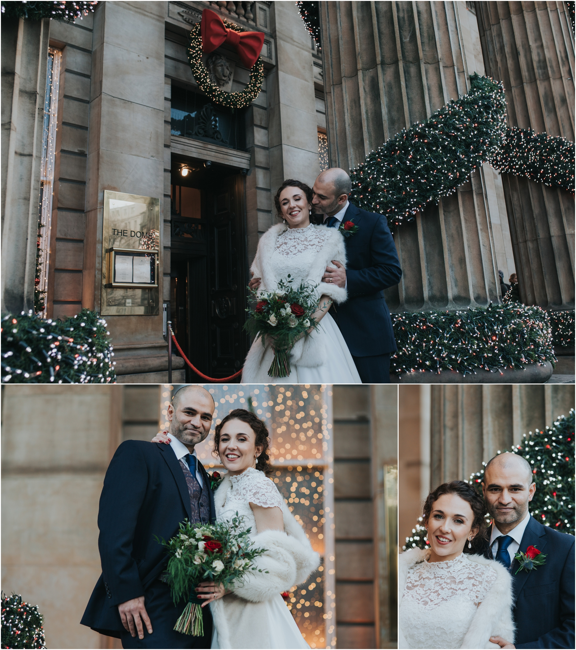 the dome edinburgh christmas wedding