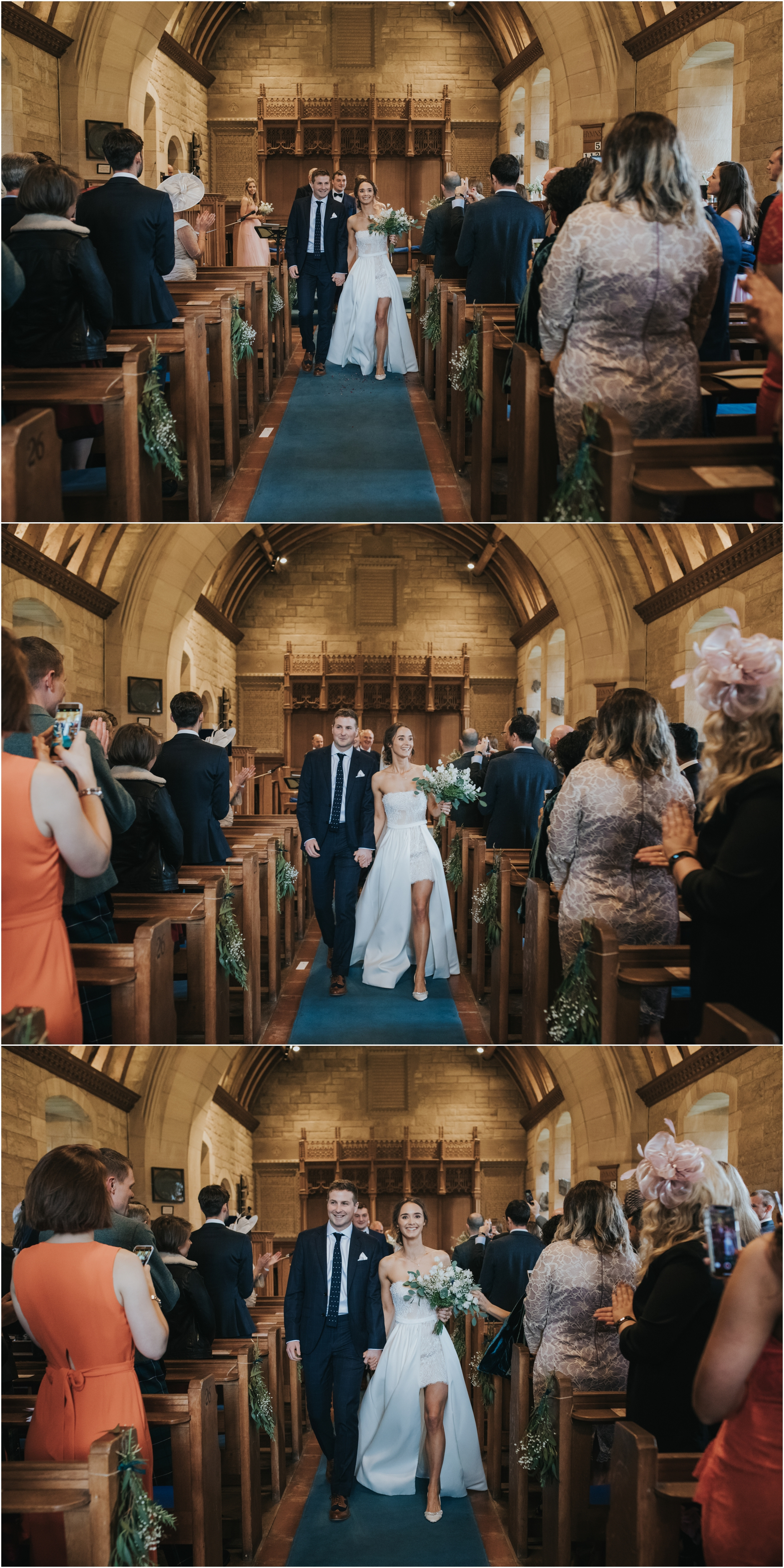 rustic village hall wedding scotland