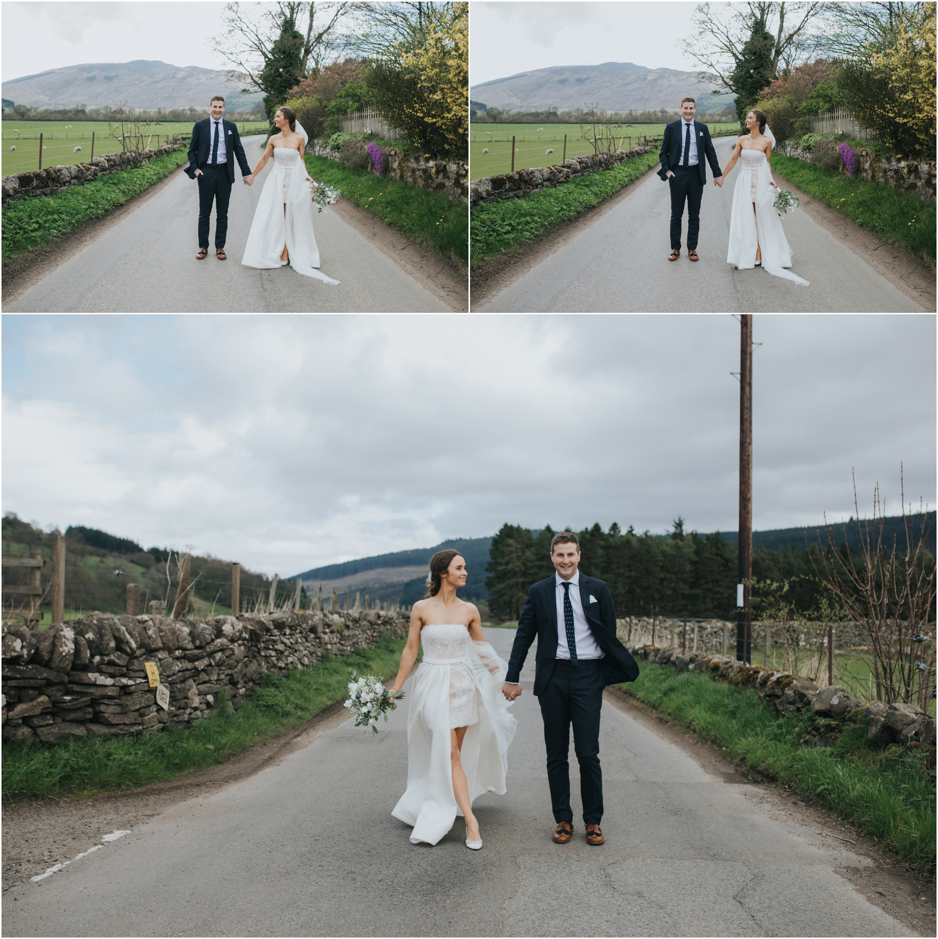 fortingall village hall wedding aberfeldy