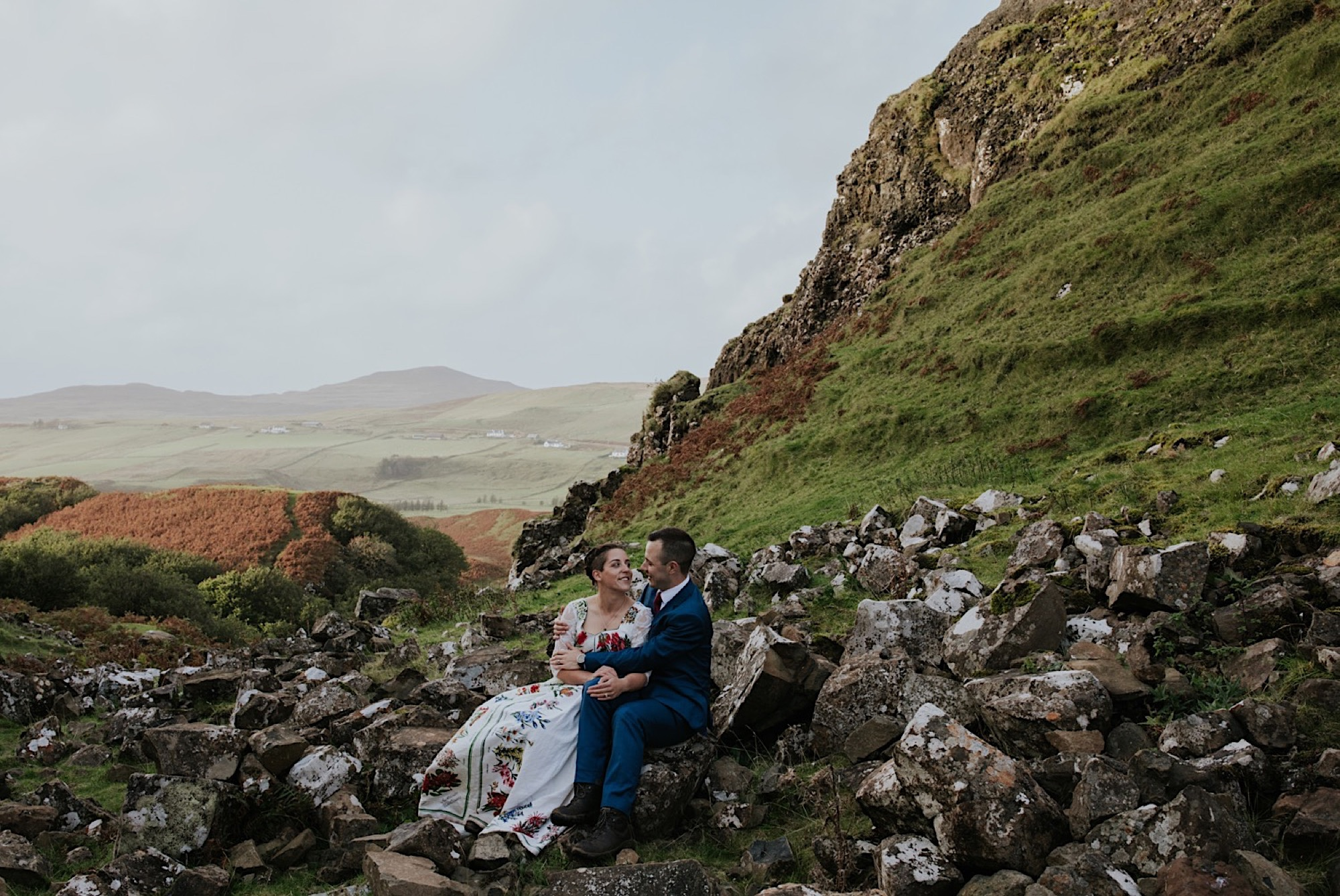 isle of skye elopement wedding photographer