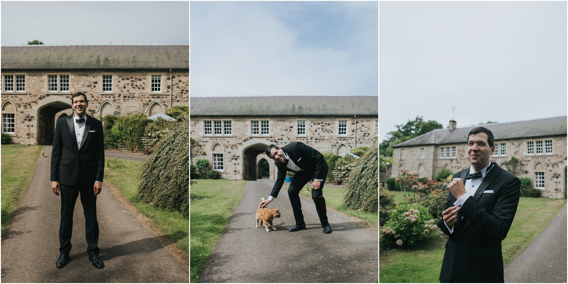 romantic scottish castle wedding