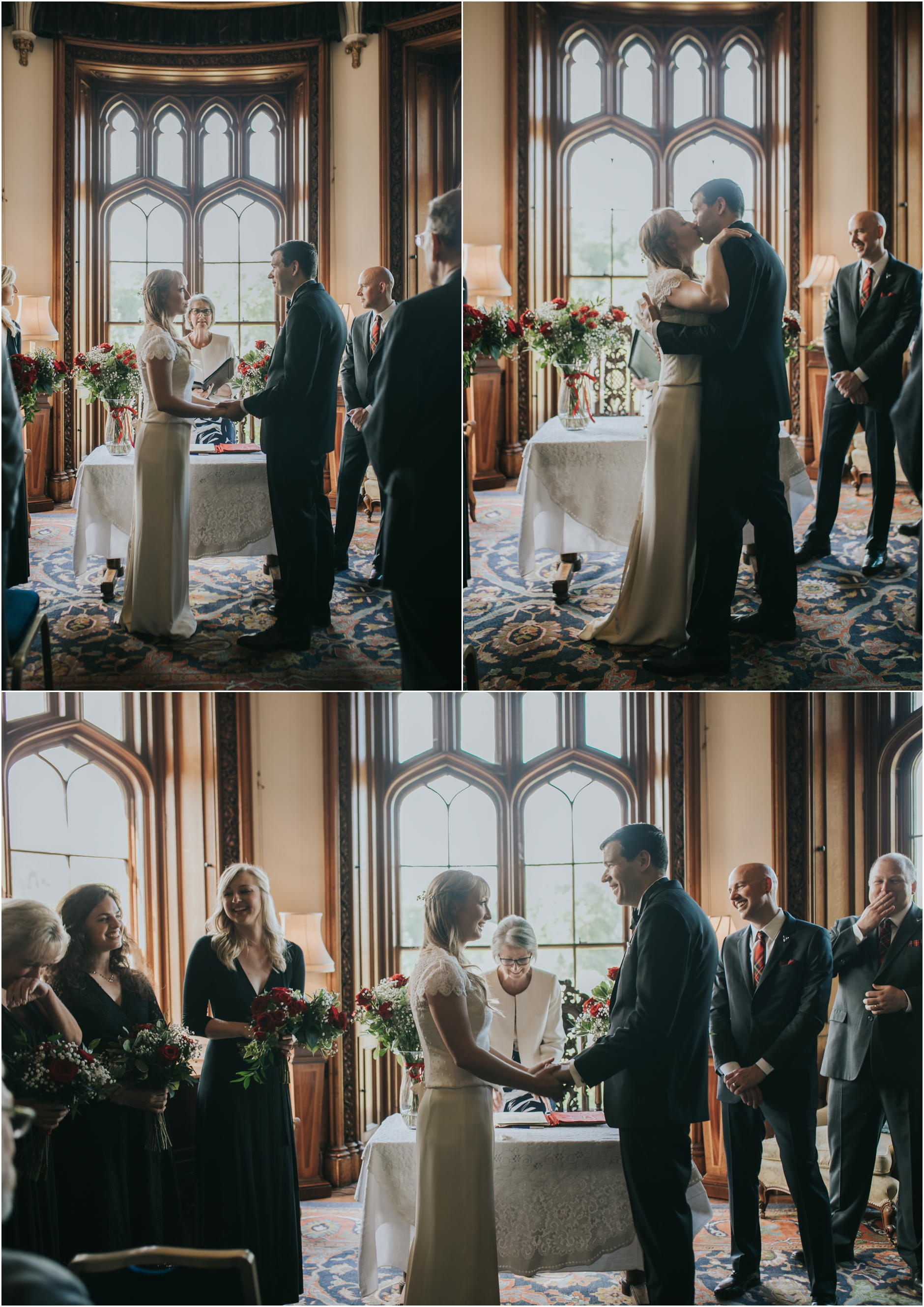scottish castle wedding at duns castle