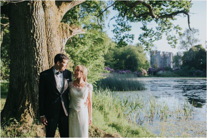 A romantic Scottish summer elopement at Duns Castle - Emily & Steve