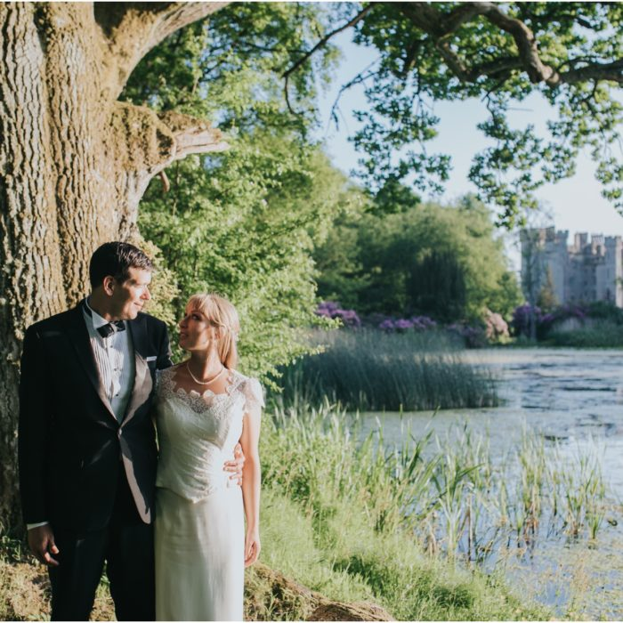 A romantic Scottish summer elopement at Duns Castle - Emily & Steve