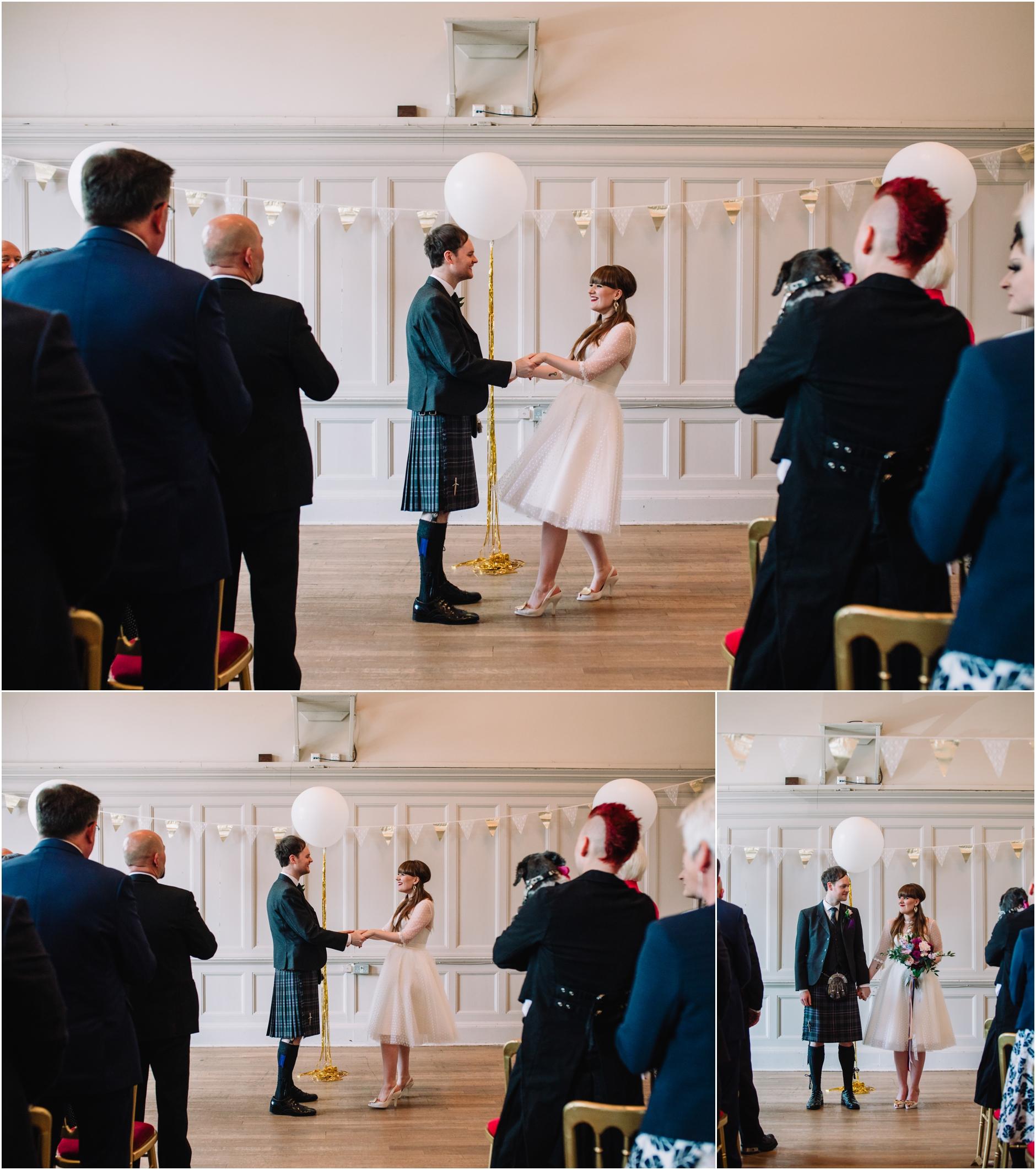 house of mooshki bride vintage 50s style wedding dress