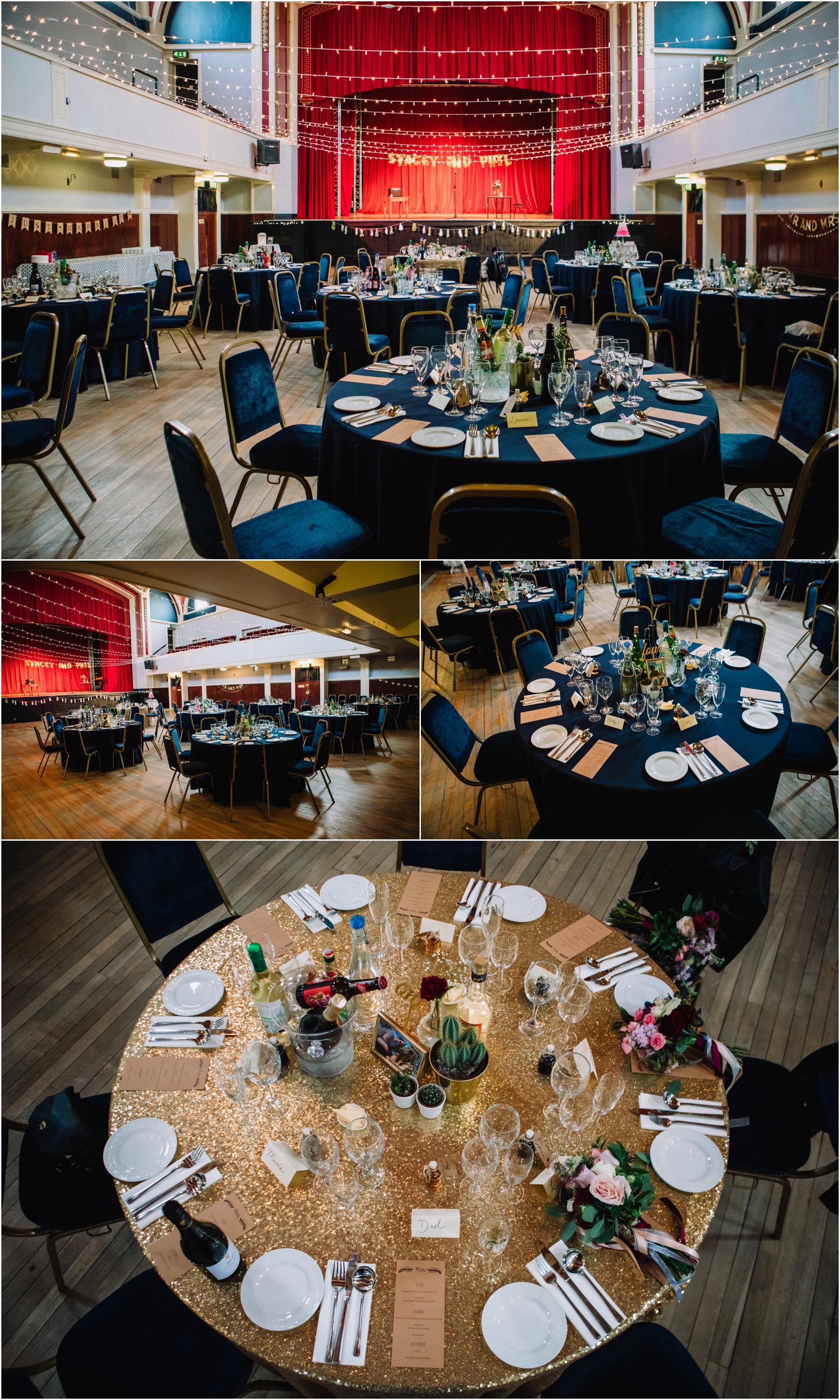 50s vintage wedding edinburgh scotland