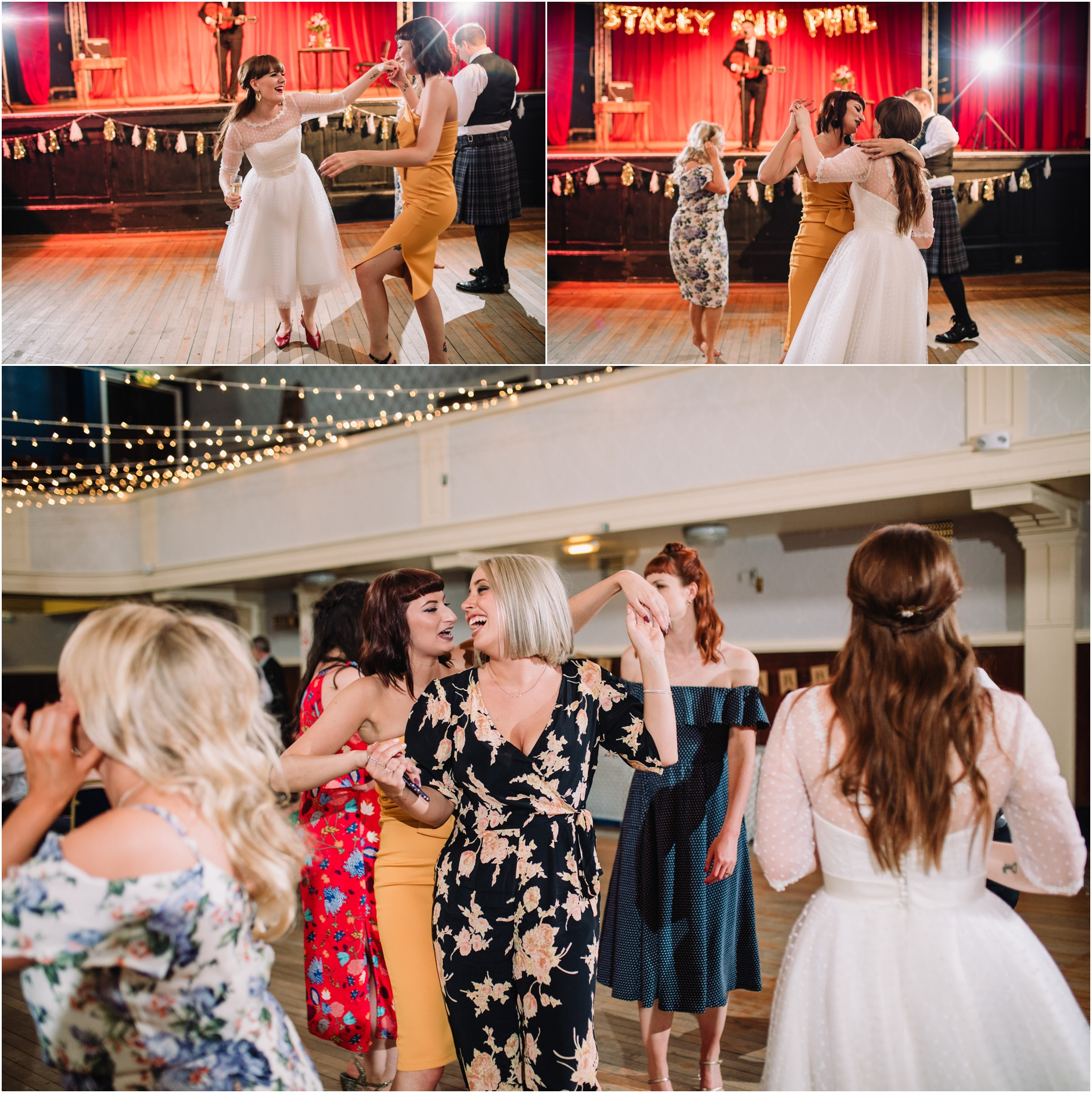 stylish wedding at portobello town hall