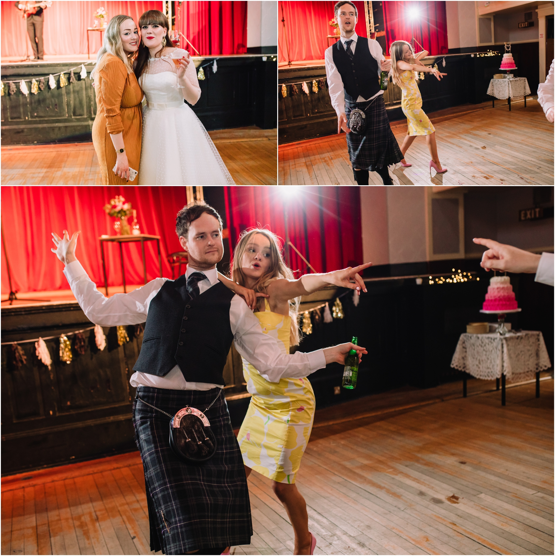 portobello town hall wedding photos