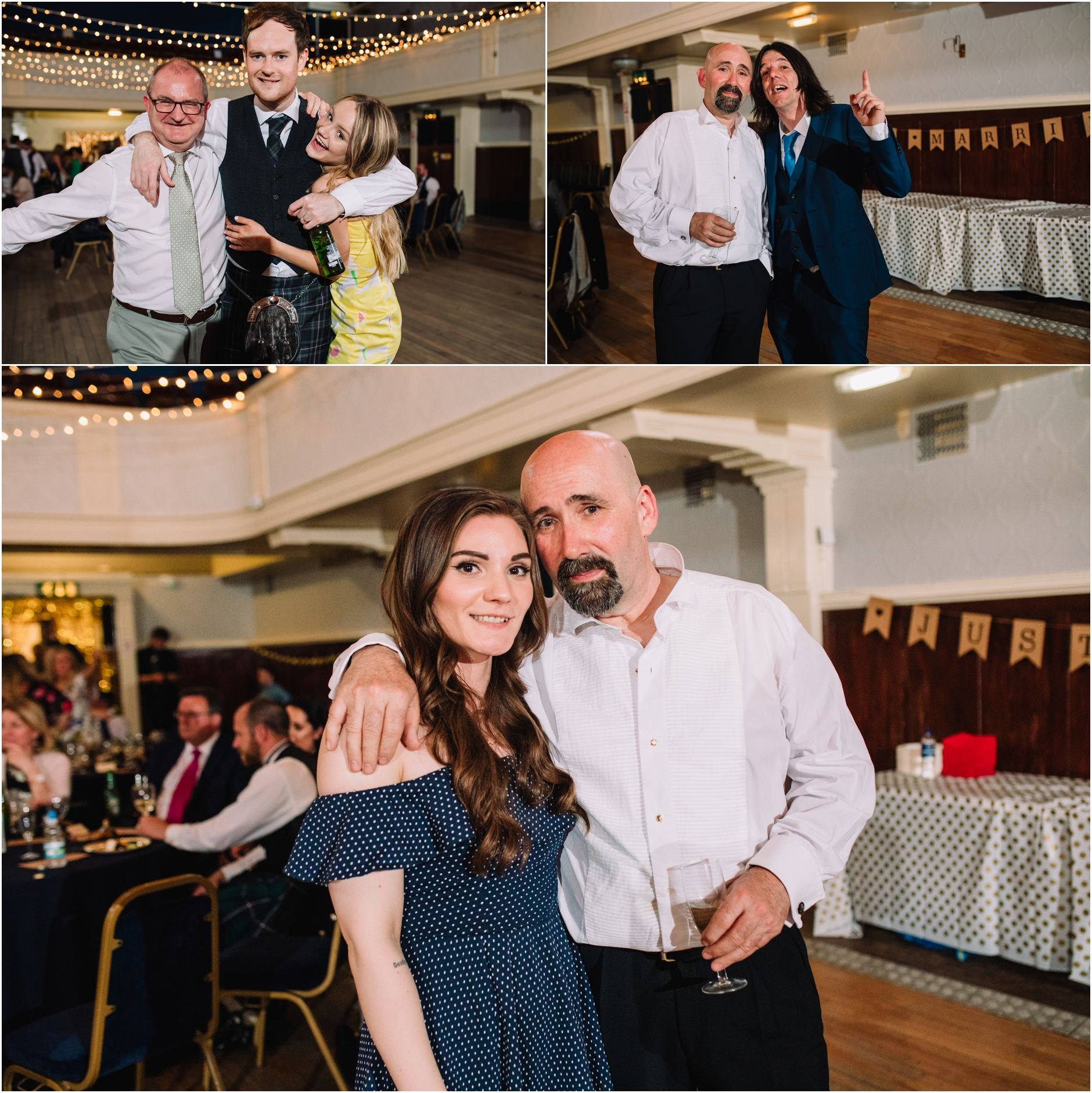 portobello town hall wedding photos