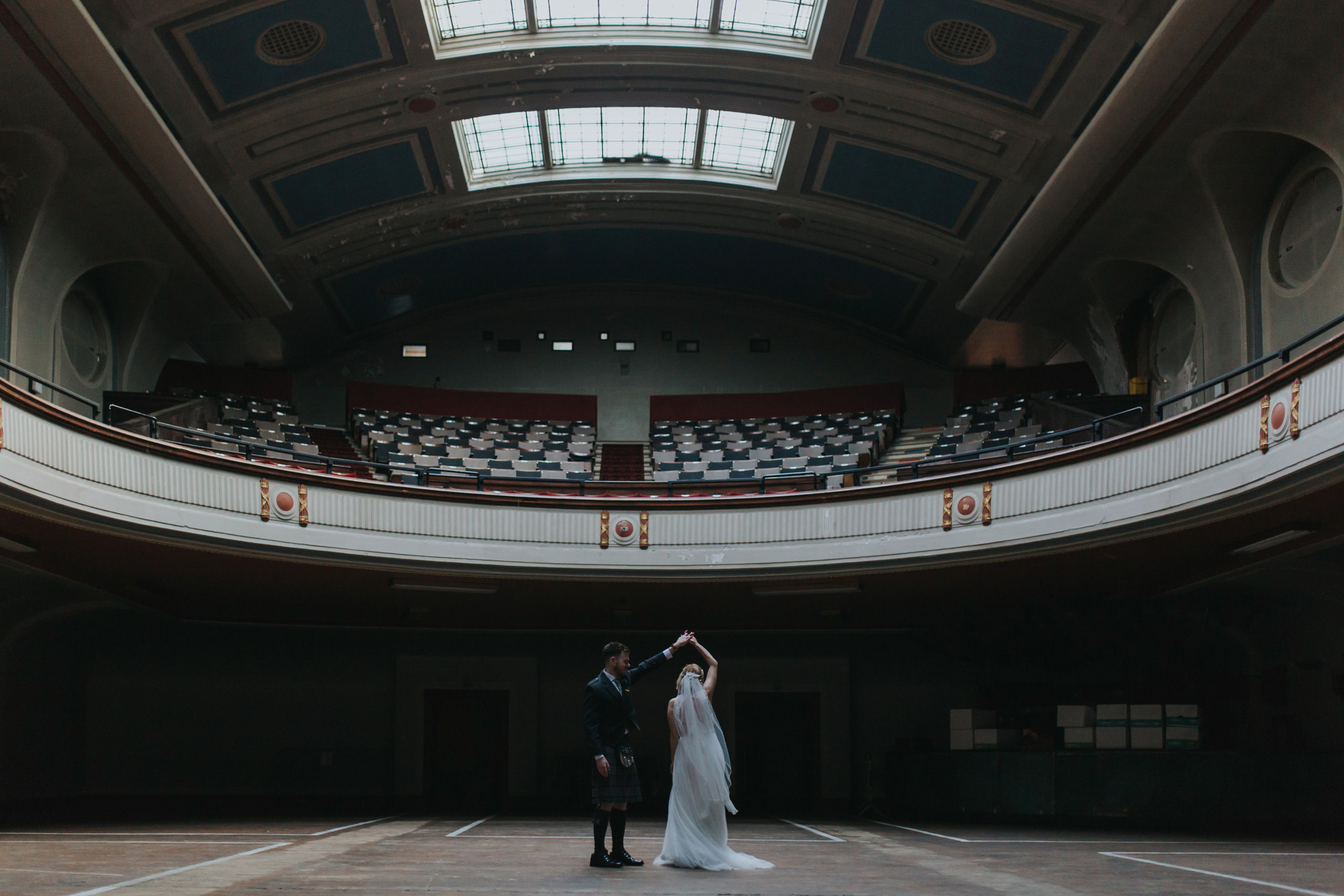 leith theatre wedding