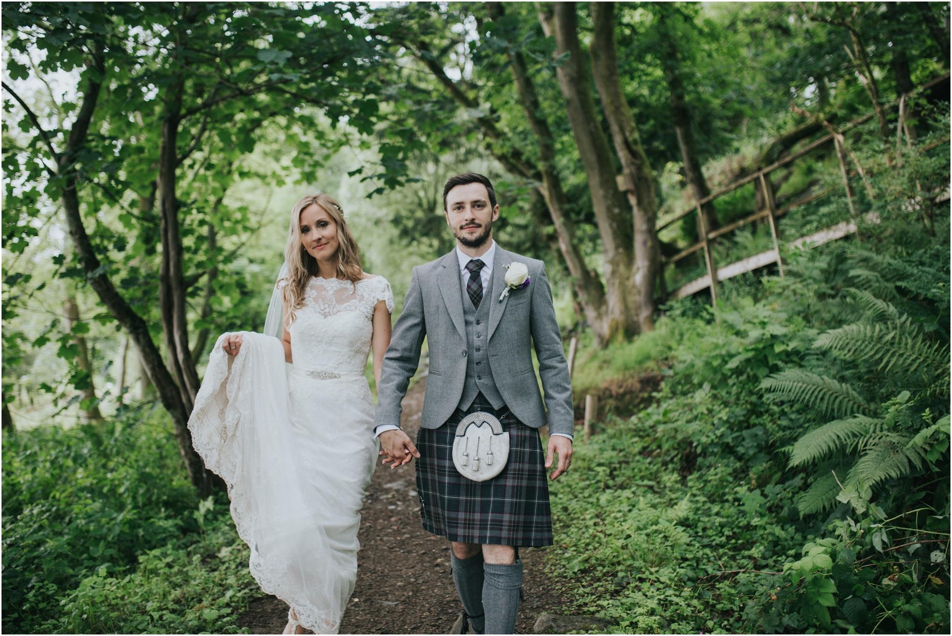 comrie croft barn wedding photos