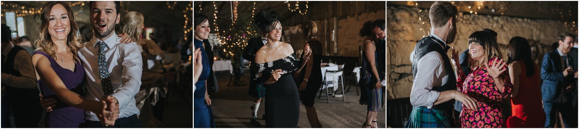relaxed alternative wedding photography