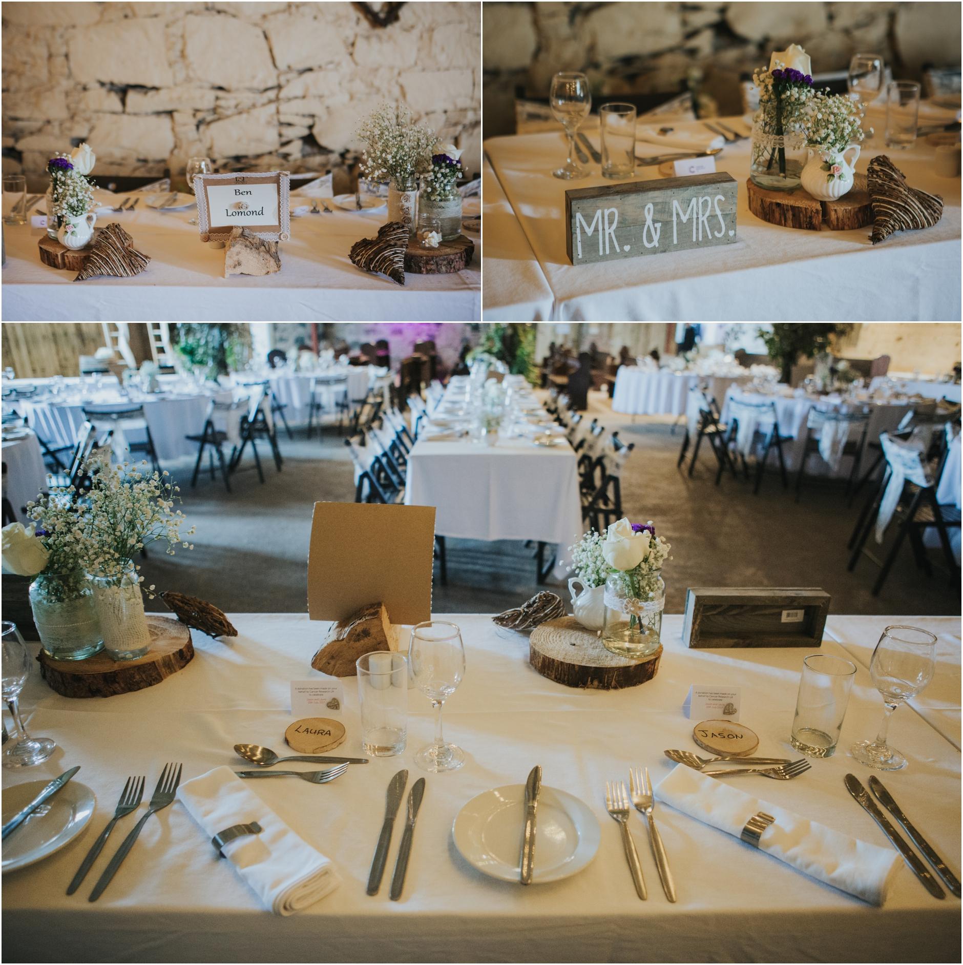 comrie croft summer wedding