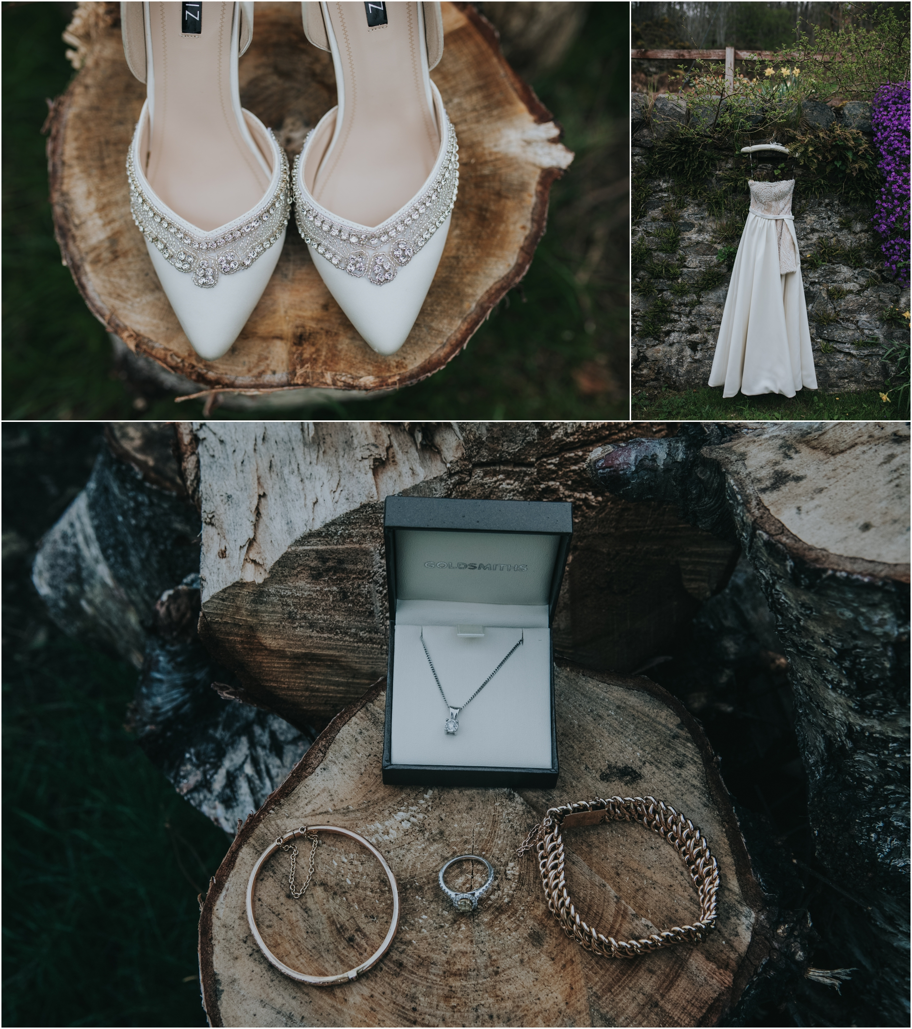 rustic wedding scottish highlands