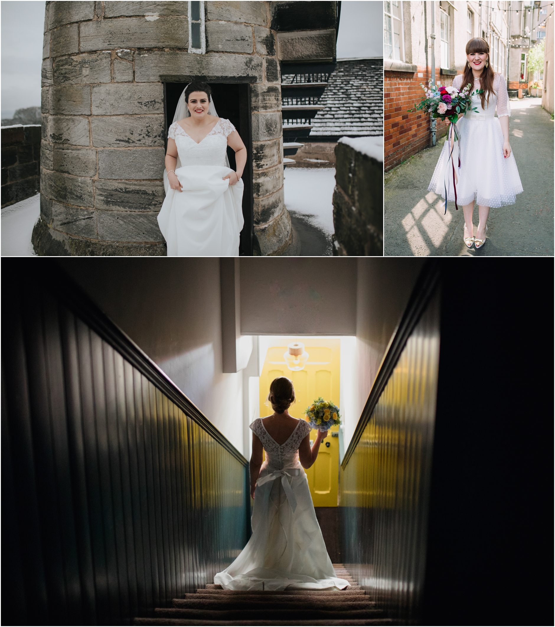 scottish brides on their wedding day wedding photography