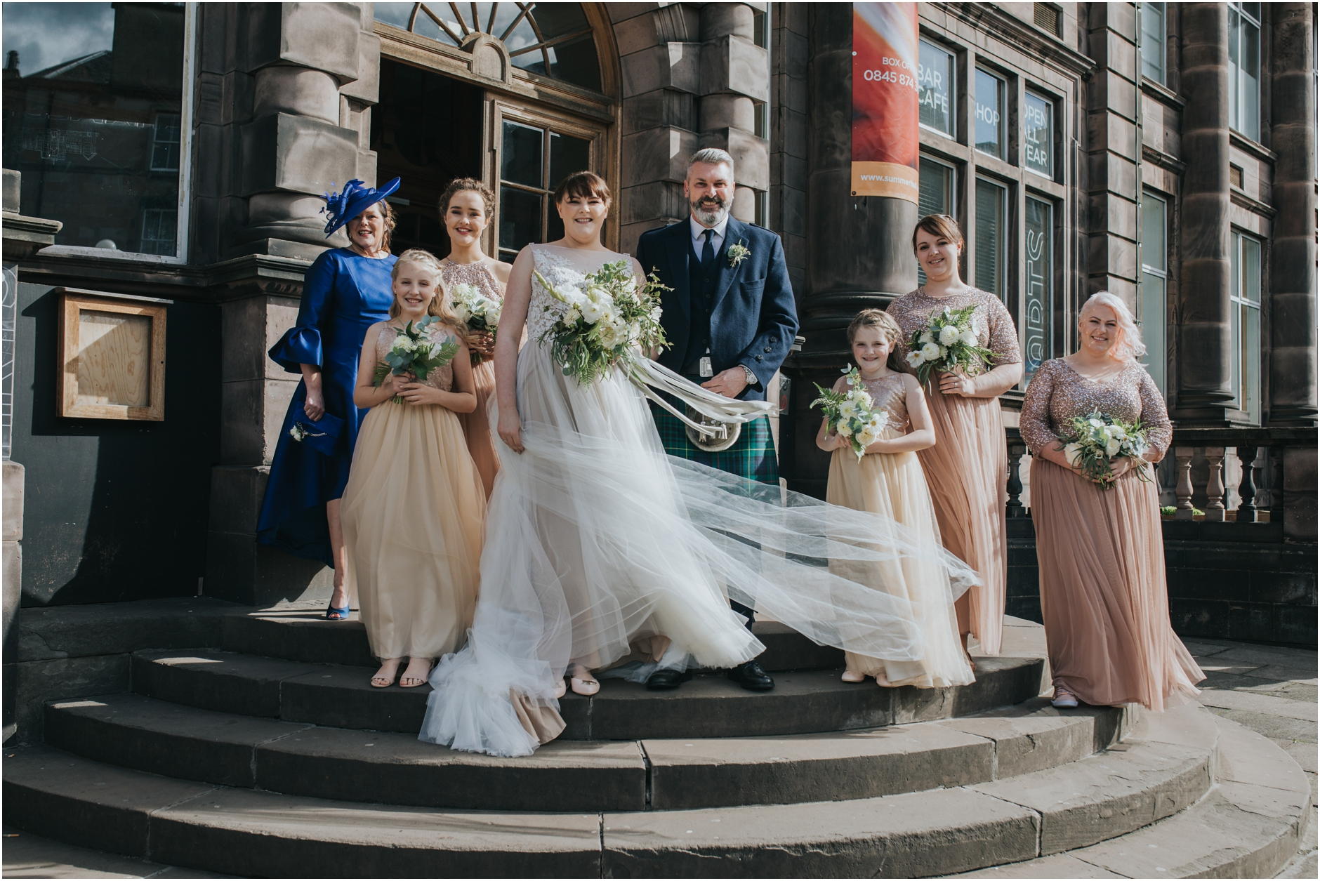 summerhall alternative wedding edinburgh photographer