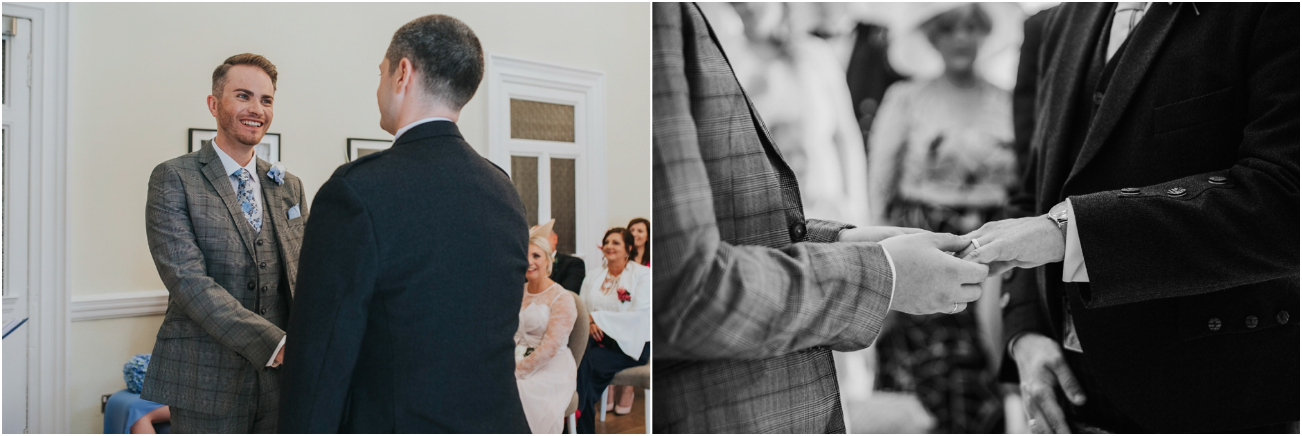 same sex wedding photographer glasgow scotland