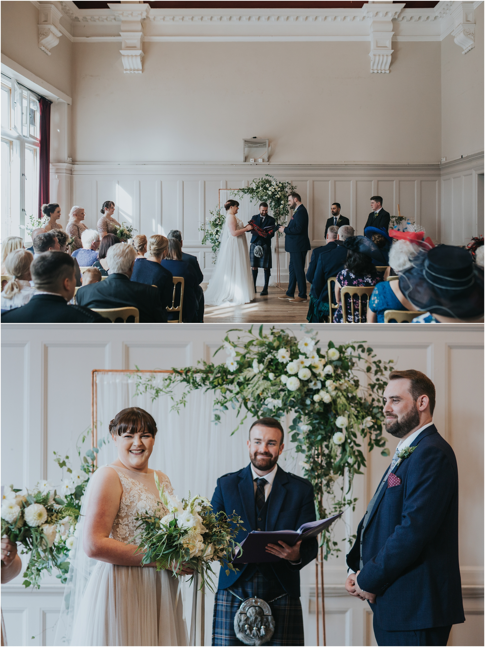 summerhall edinburgh alternative wedding photogrpaher