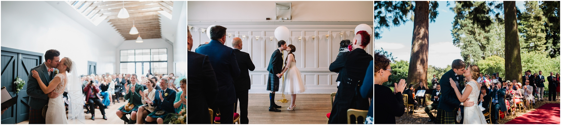 and you may kiss, photos of scottish weddings