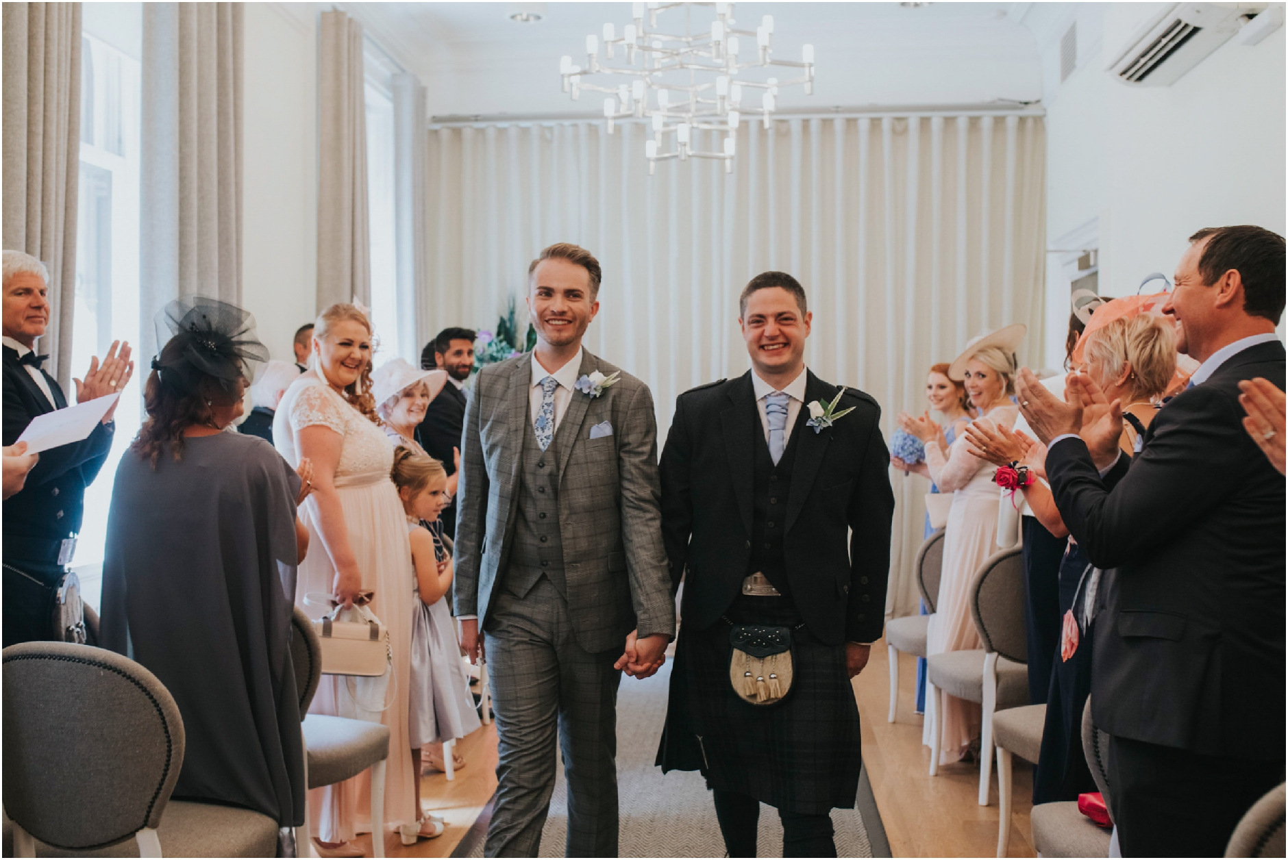 same sex gay wedding photographer glasgow scotland