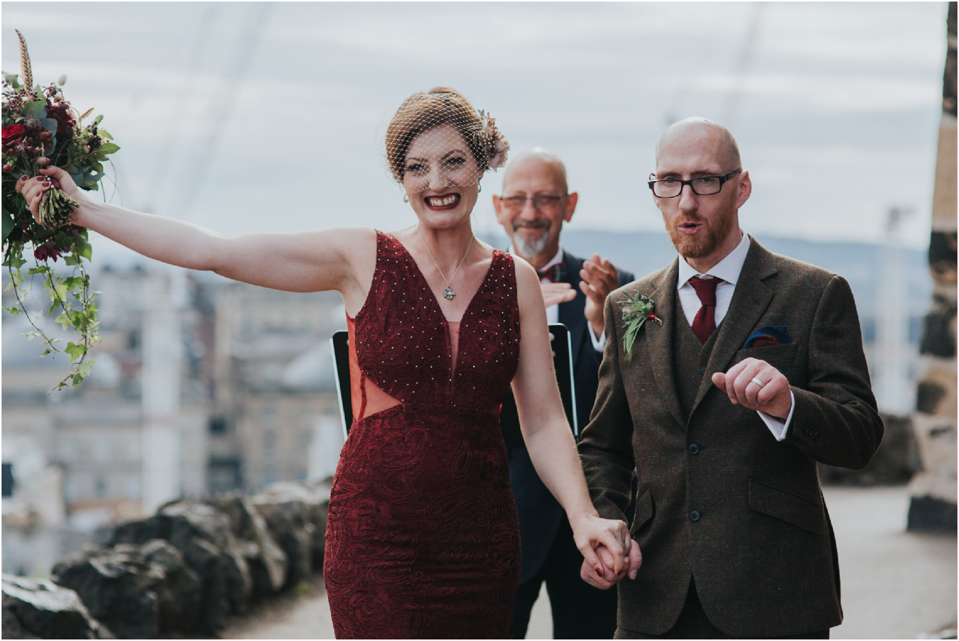 scottish humanist elopement edinburgh calton hill photographer
