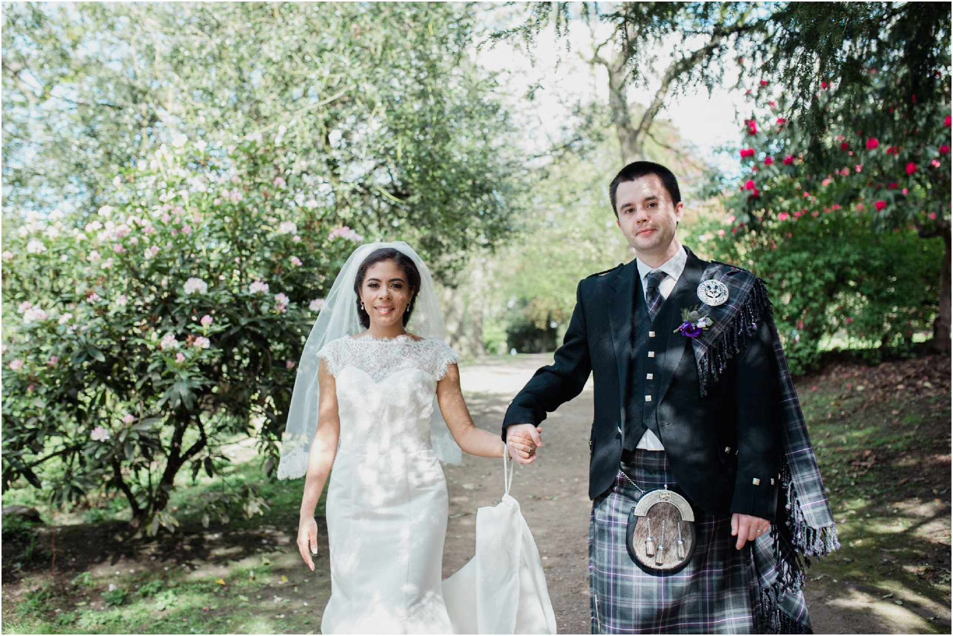 principal hotel edinburgh summer wedding
