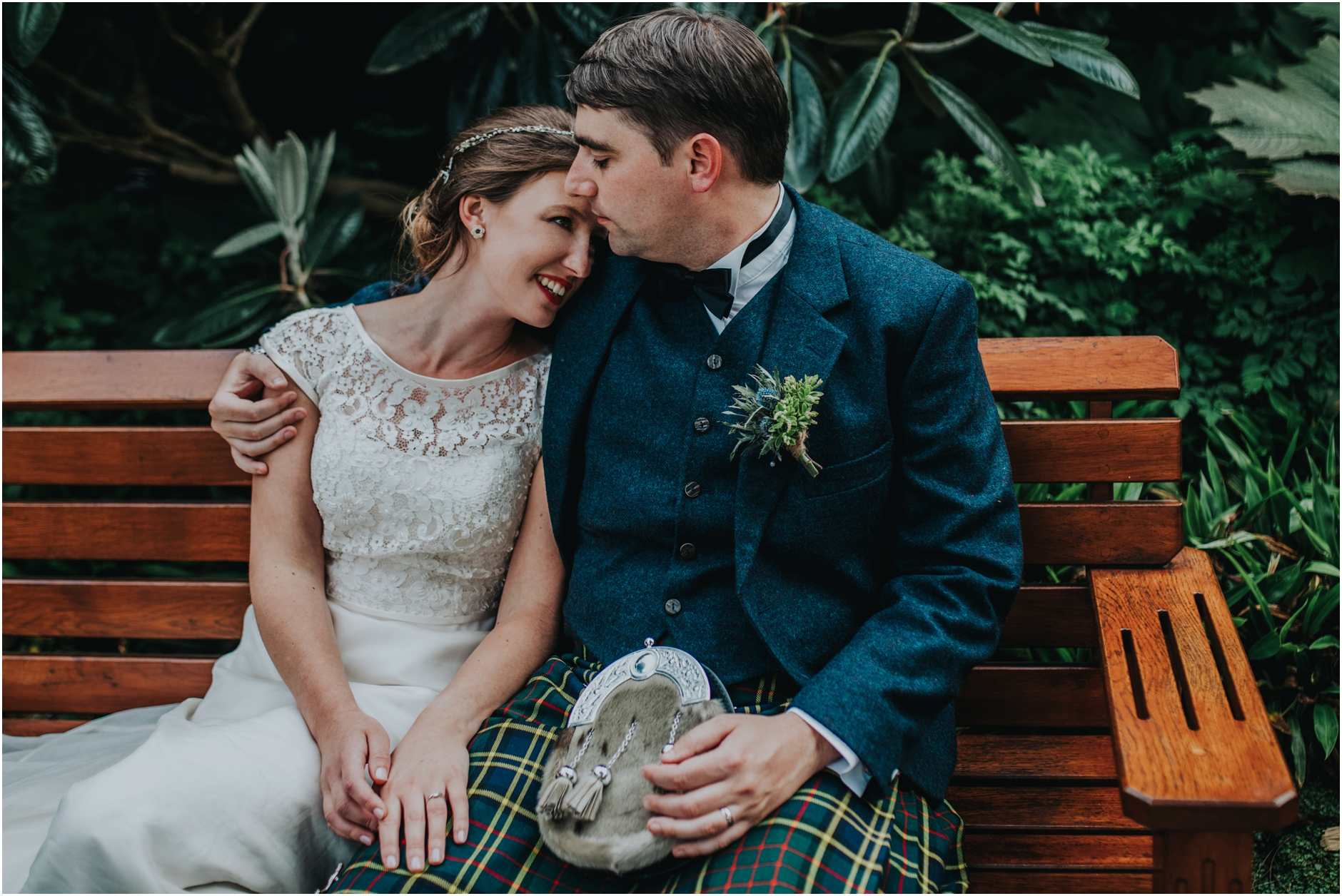 summer scottish alternative wedding photographer