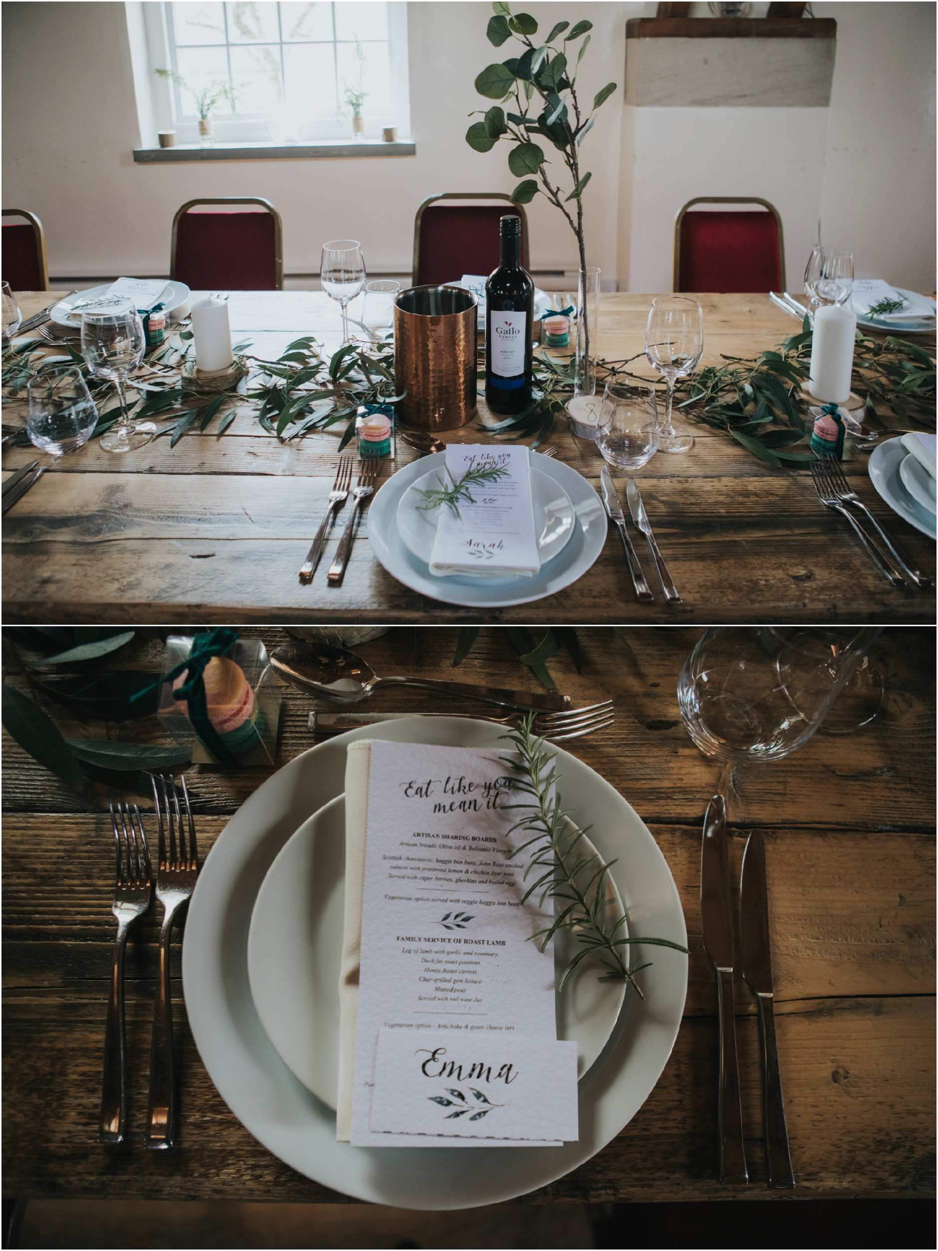 fortingall scottish highlands rustic wedding photographer