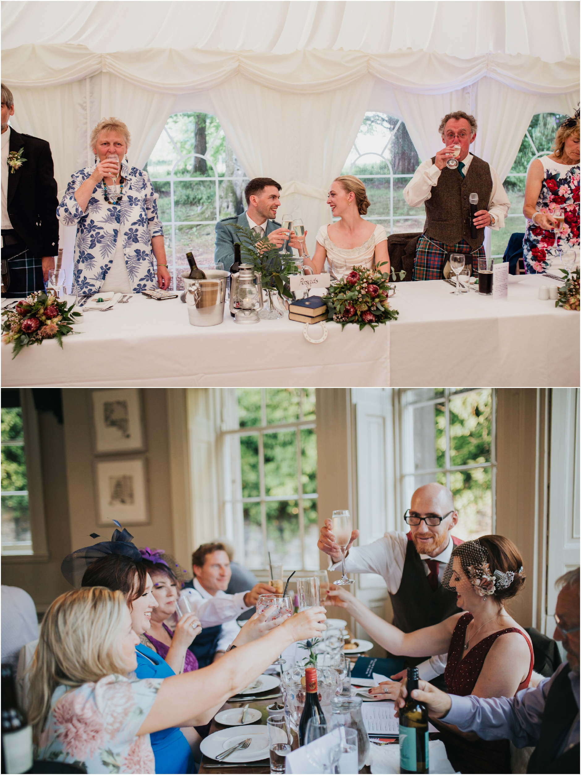 wedding toasts at scottish weddings