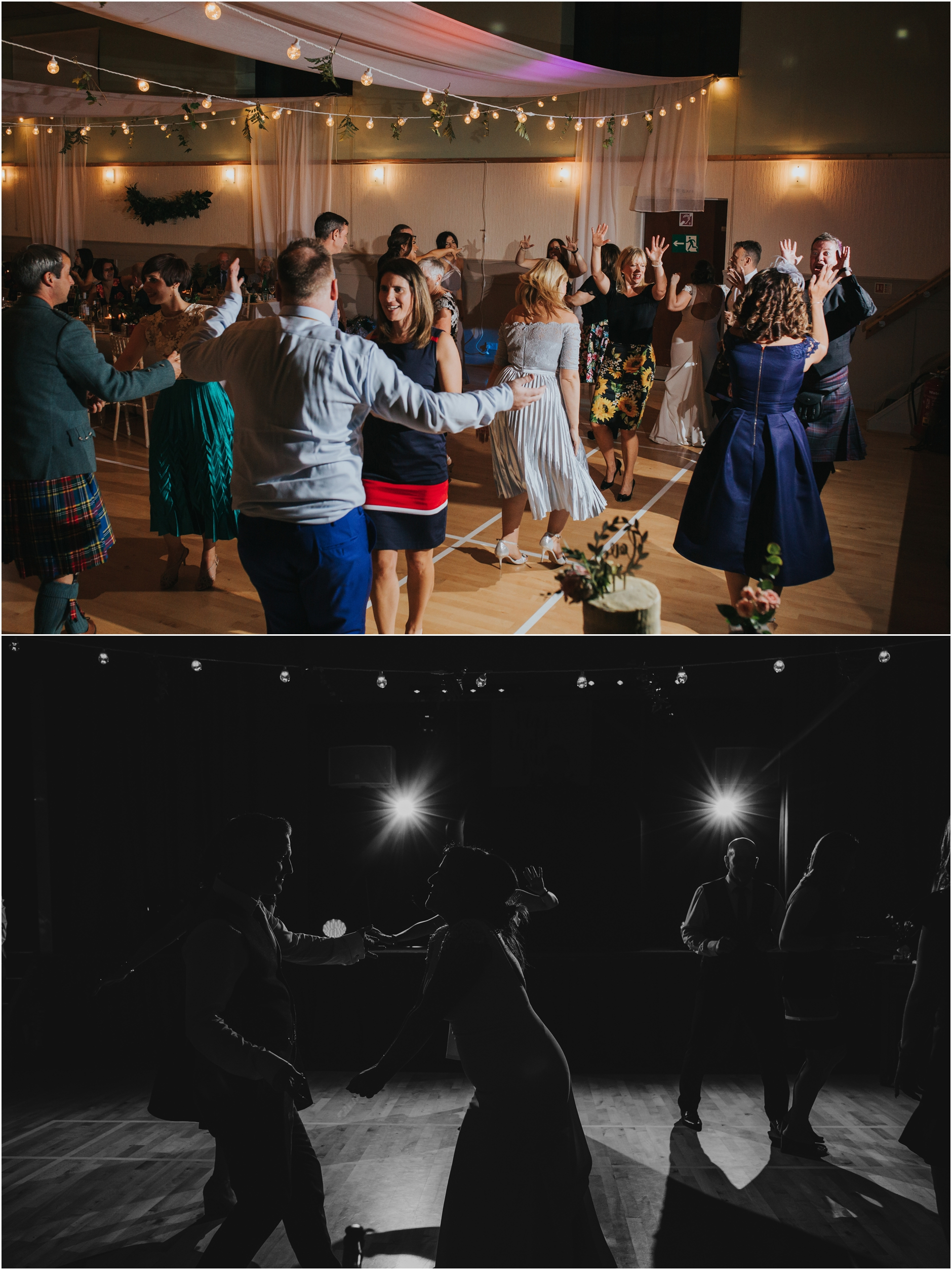 alternative scottish wedding photographer wedding party
