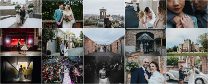 Edinburgh Wedding Photographer - Best of 2018