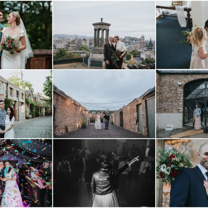Edinburgh Wedding Photographer - Best of 2018