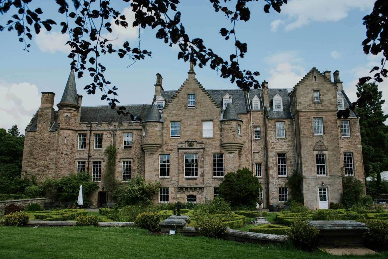 carberry tower wedding edinburgh