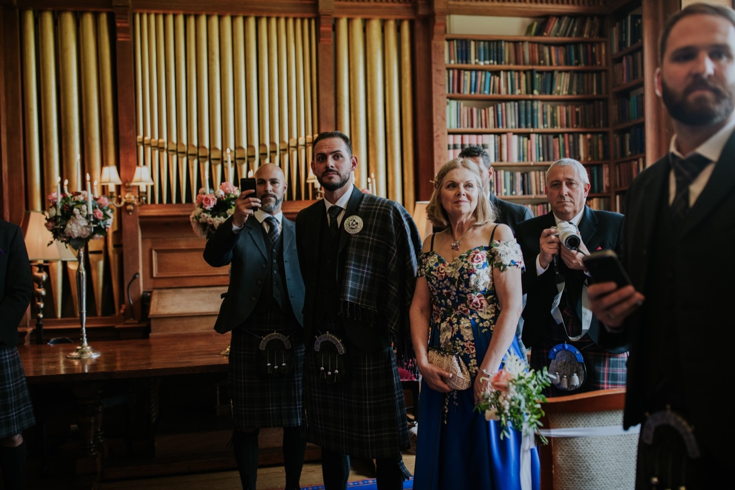 french elopement in scotland photos