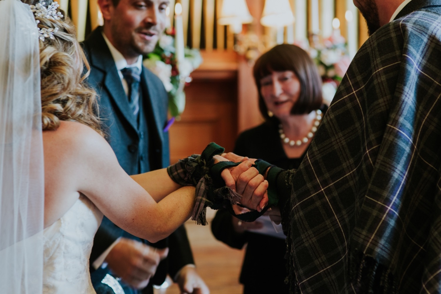 hand fasting scottish wedding ceremony