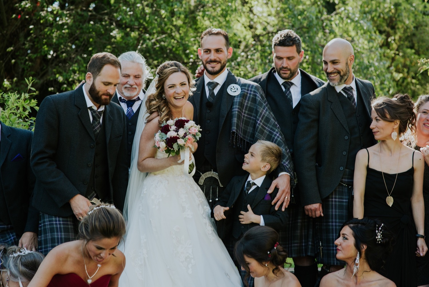 scottish chateau wedding edinburgh
