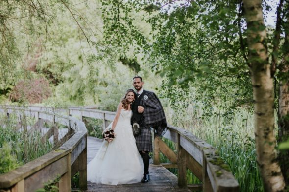 french chateau wedding scotland photos