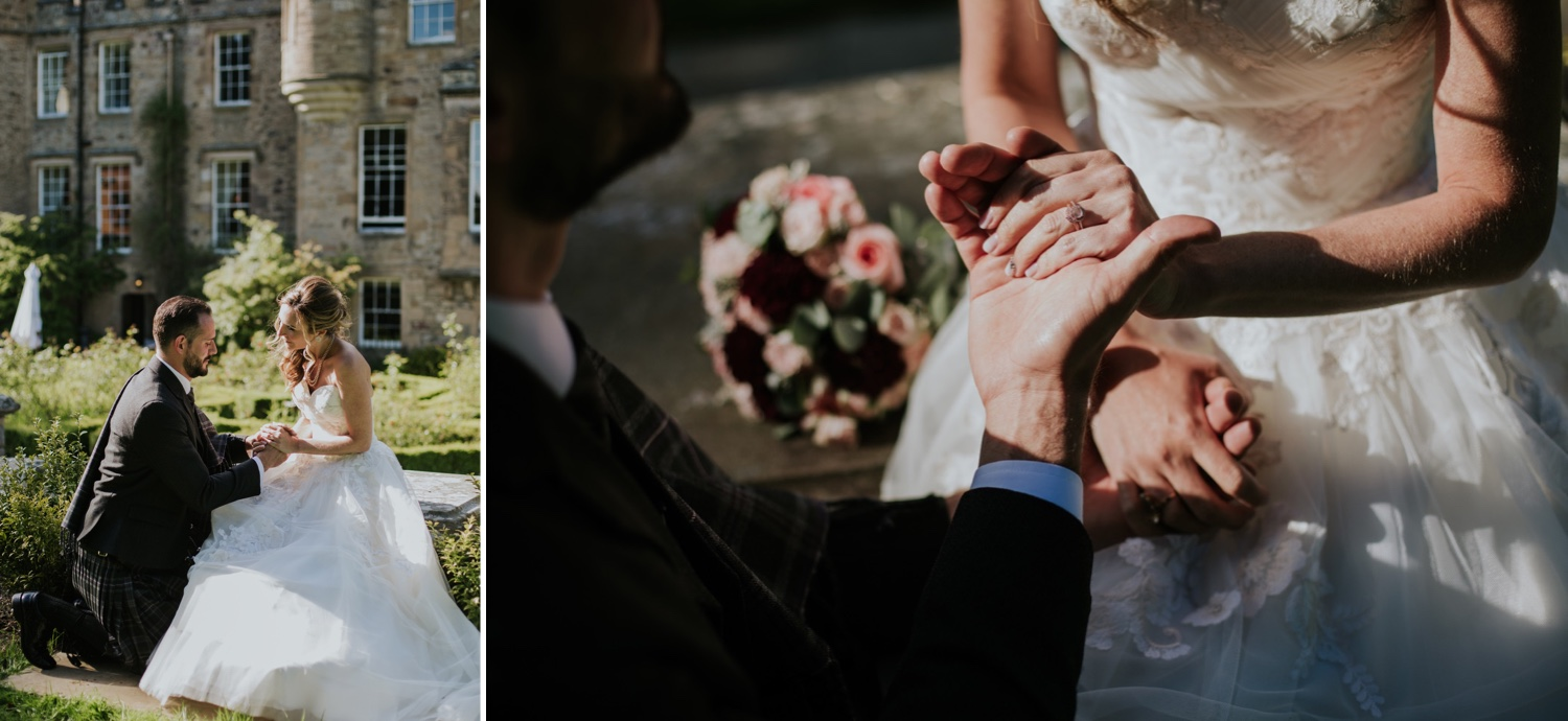 french chateau wedding scotland