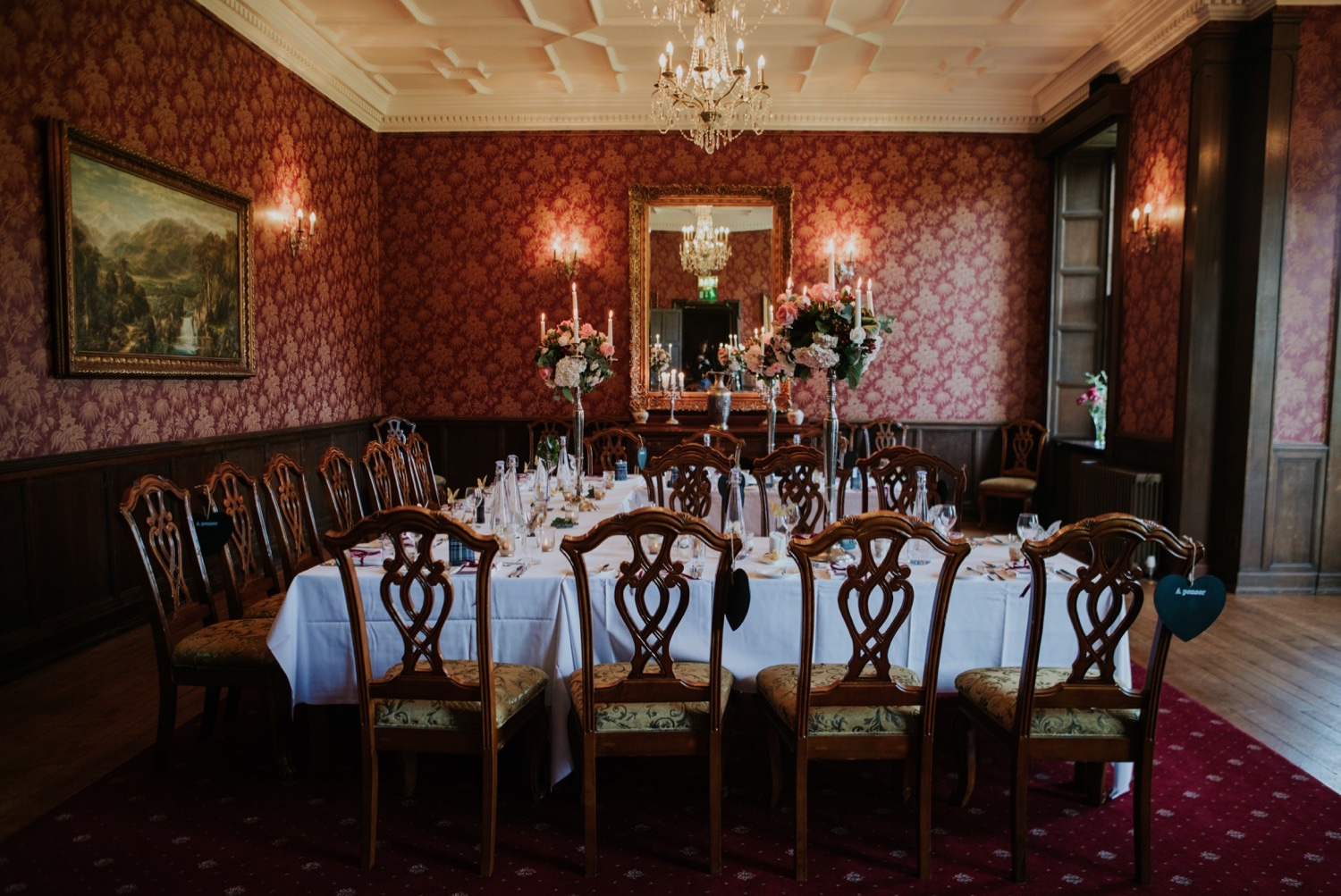 carberry tower dining room Edinburgh