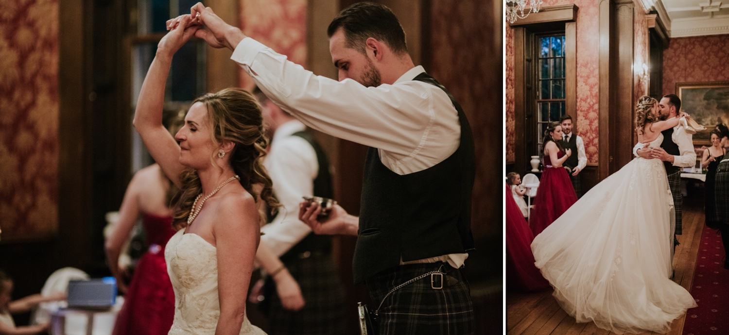 french wedding elopement photos scotland edinburgh
