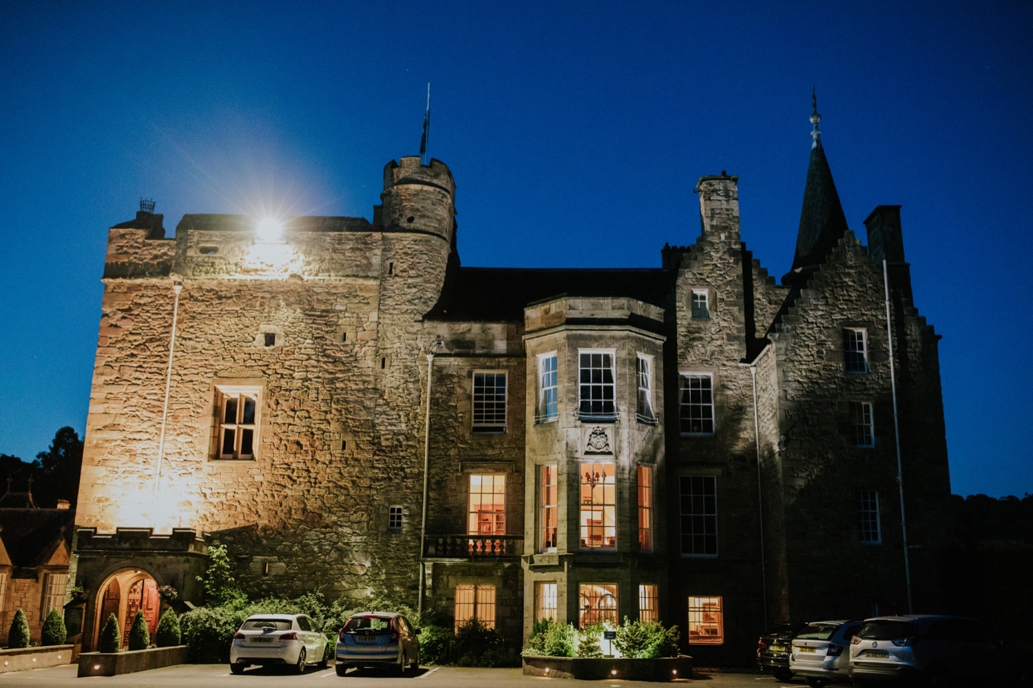 carberry tower wedding venue edinburgh