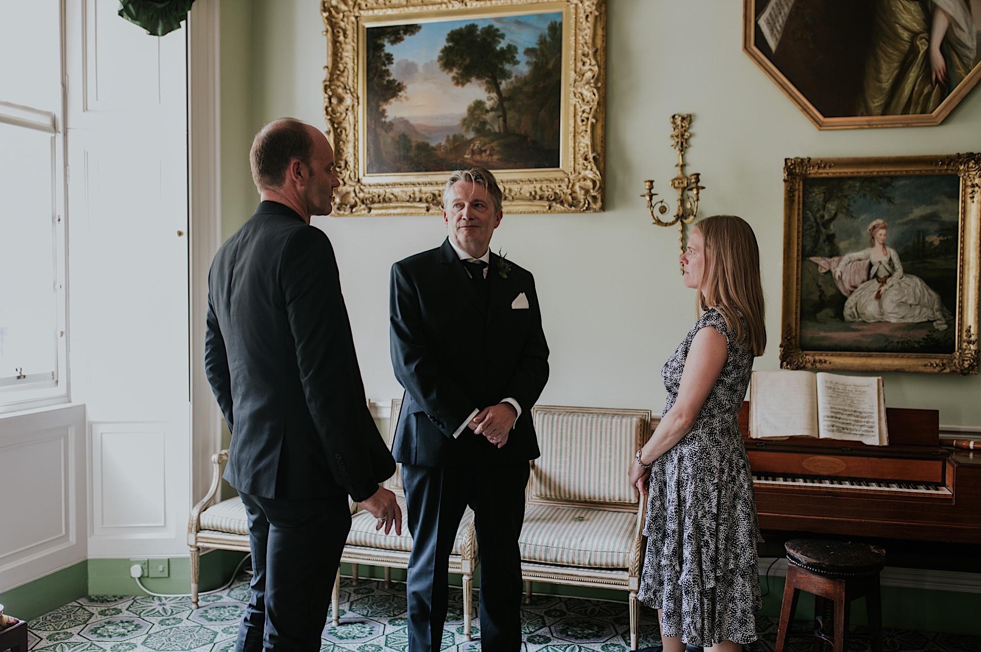 georgian house edinburgh elopement photographer