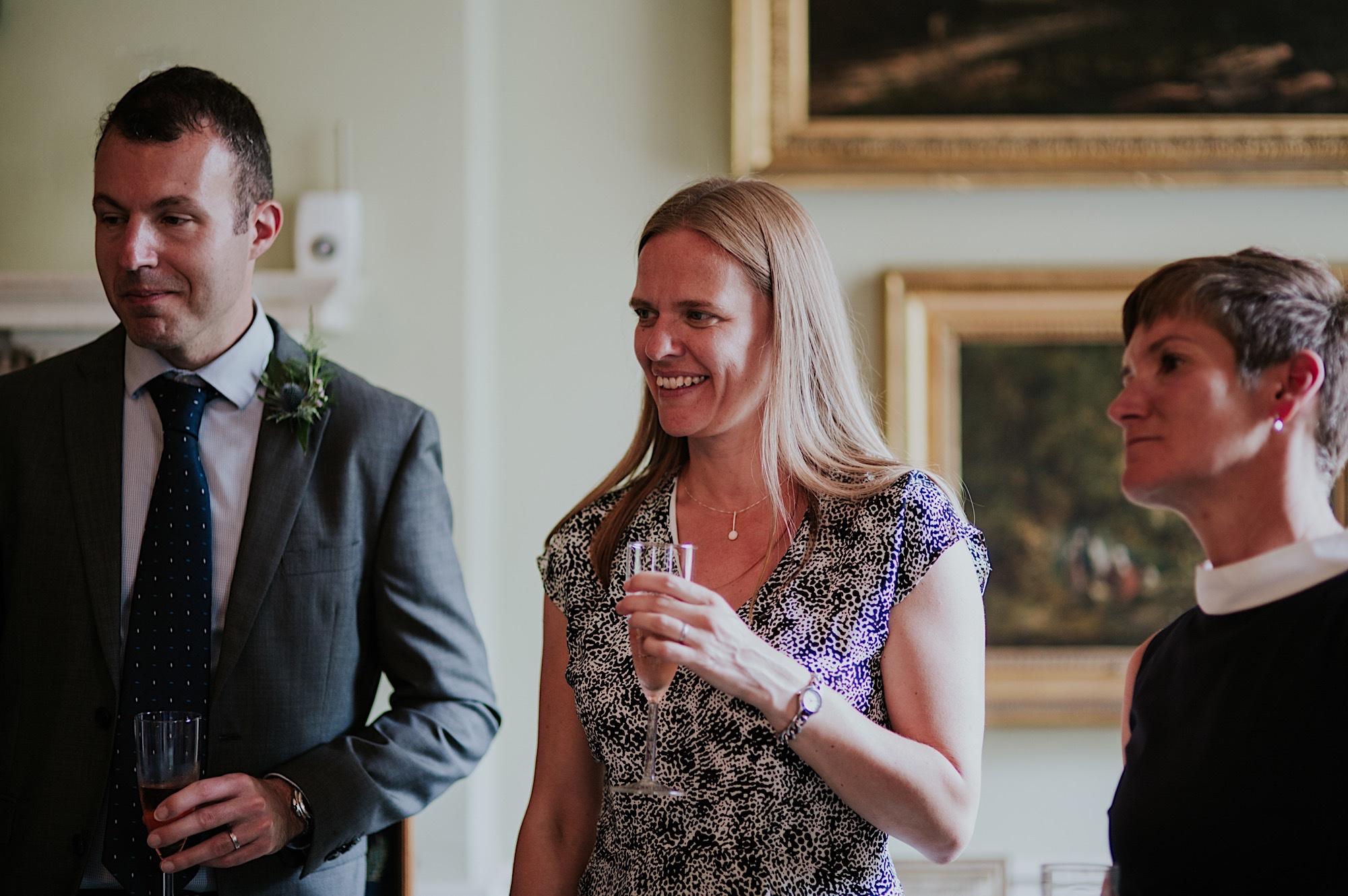 city wedding in edinburgh