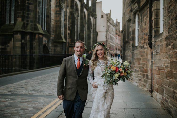 alternative edinburgh elopement photographer