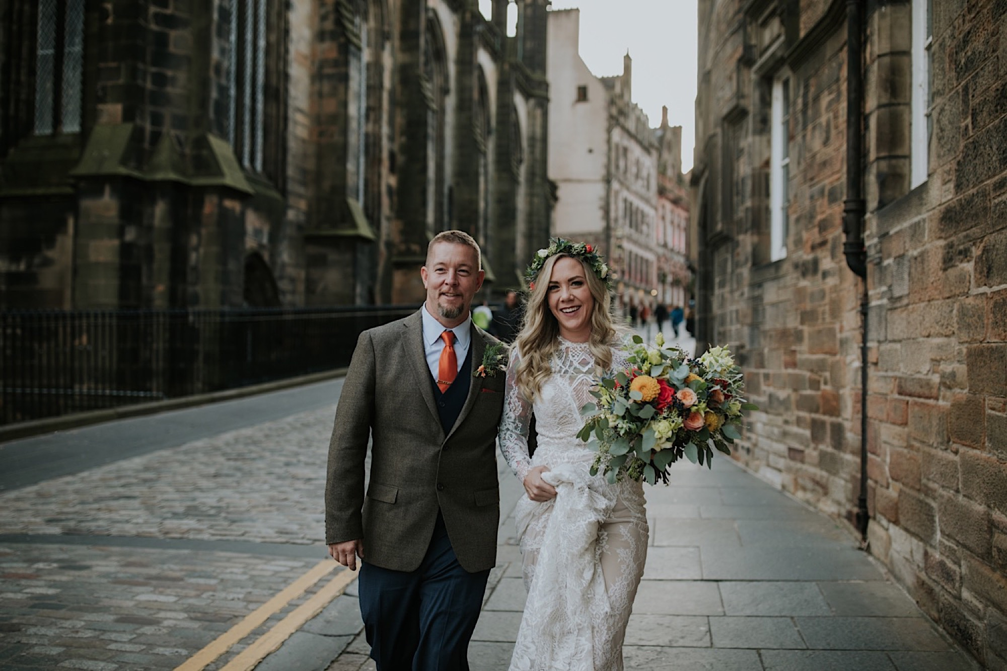 alternative edinburgh elopement photographer